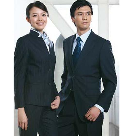 蓝领服装设计图